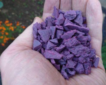 Garuda wire free Lilac Rubber Chipping